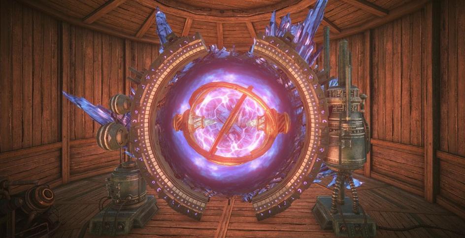 Пространственный портал для сбора ресурсов elyon