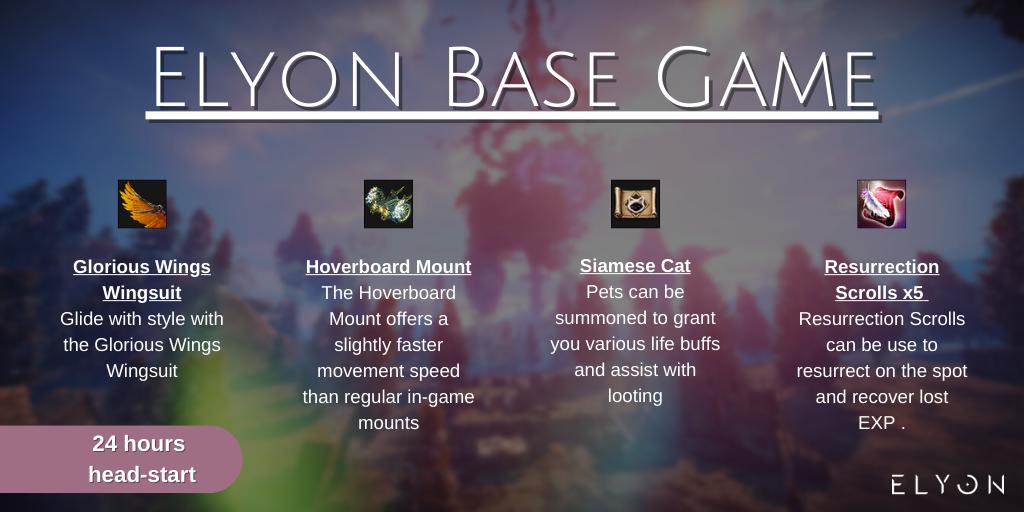 набор раннего доступа base game elyon