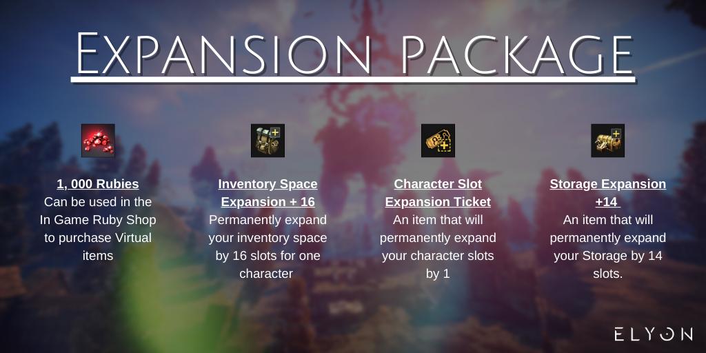 Expansion Package обзор набора elyon